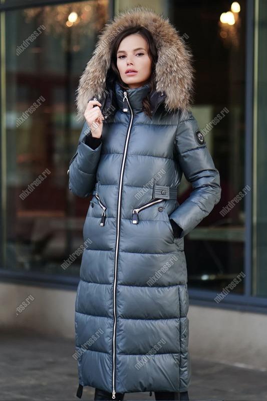 Модный пуховик зимний на девочку